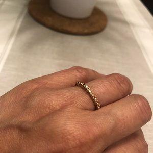 Custom made rose gold with diamonds